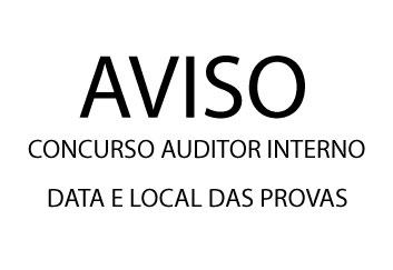 Aviso: Data, local de provas do concurso da Câmara.